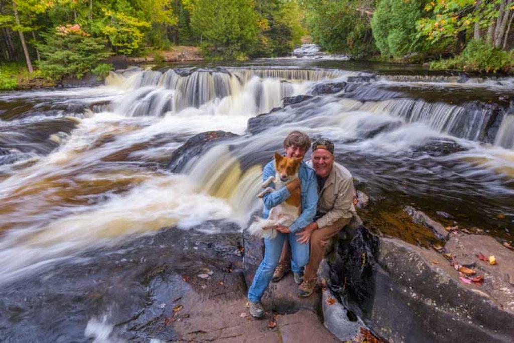 Bond Falls Waterfalls