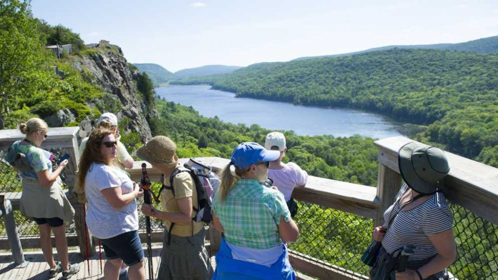 The Porcupine Mountains Wilderness State Park