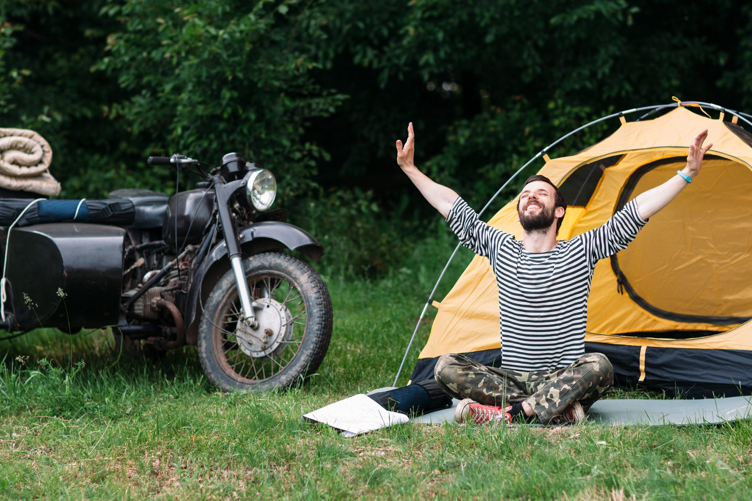 Best One Man Tent for Motorcycle Touring
